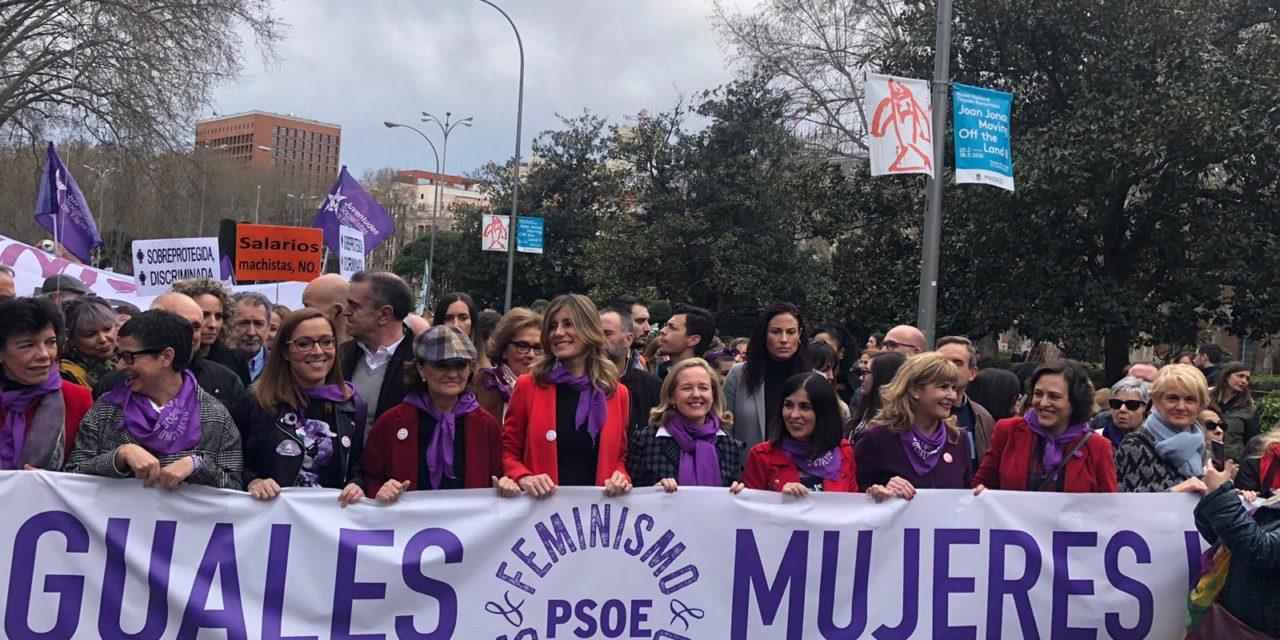 El sector PSOE del Gobierno desaconseja las manifestaciones en el 8M