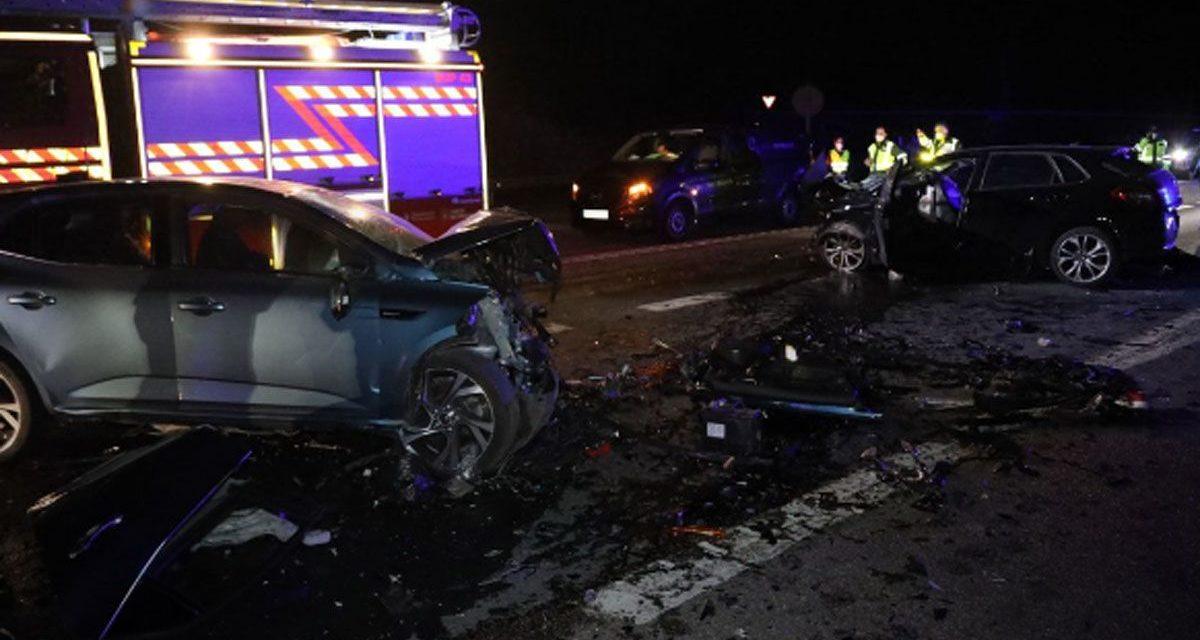 El conductor que provocó el accidente en el Alto da Brava en Salceda, iba bebido