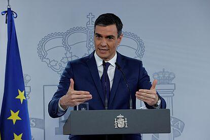 El presidente Sánchez lanza un órdago: en agosto dice que habrá 33 millones de españoles vacunados